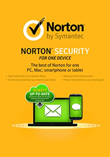 Norton Security for One Device for Students [Download] by Symantec