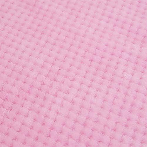 Rose, 45/_x/_65/_cm YUAFOAE Plaid Couverture Polaire Epaisse Hiver Chaude R/éVersible Plaid Double-Face Doux Respirant Couverture De Lit Canap/é Plaid Grande Taille