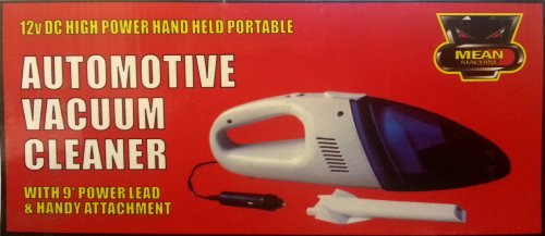 12v Dc Portable Vacuum Cleaner