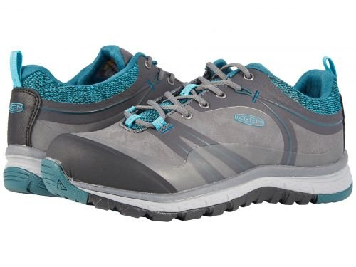 Keen Utility(キーン) レディース 女性用 シューズ 靴 スニーカー 運動靴 Sedona Pulse Low Aluminum Toe - Magnet/Baltic 7 D - Wide [並行輸入品]