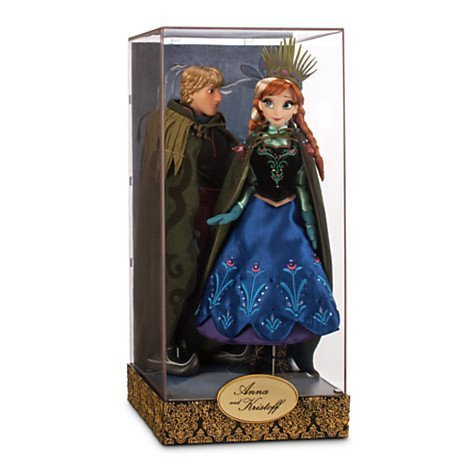 - Disney Exclusive Limited Edition Frozen Fairytale Designer Collection Anna and Kristoff Doll Set