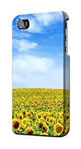 S0232 Sunflower Case Cover for Iphone 4 4s