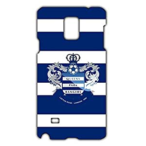 Best Design 3D Vintage Style Hard Plastic QPR Queens Park Pangers Football Club Logo Phone Case For Samsung Galaxy Note 4