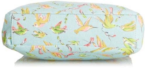 Swankyswans Girls bella Bird Print Crossbody bag gr in Verde (verde)