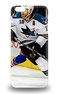 Iphone High Quality Tpu Case NHL San Jose Sharks Joe Thornton #19 Case Cover For Iphone 6 Plus ( Custom Picture iPhone 6, iPhone 6 PLUS, iPhone 5, iPhone 5S, iPhone 5C, iPhone 4, iPhone 4S,Galaxy S6,Galaxy S5,Galaxy S4,Galaxy S3,Note 3,iPad Mini-Mini 2,iPad Air ) 3D PC Soft Case