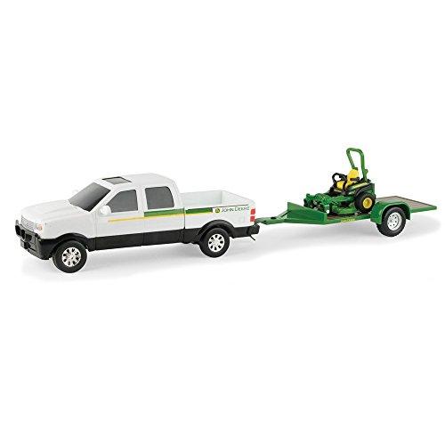JOHN DEERE Z930M WITH TRUCK (Diecast Lawn Mower)