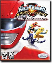 - Power Rangers Super Legends 15th Anniversary
