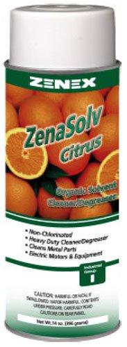 Zenex ZenaSolv Citrus Safety Solvent Degreaser - Case of 12 - Not for sale in CA, CT, DE, Washington DC, ME, MD, MA, NH, NJ, NY, PA, RI, VT, VA