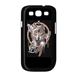 ALICASE Diy Back Case Wolf Dream Catcher For Samsung Galaxy S3 i9300 [Pattern-1]