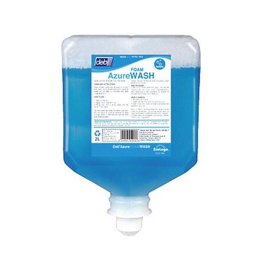 Deb Foam Azure Wash Hand Soap - 1L Bottle (33.8 ounces)