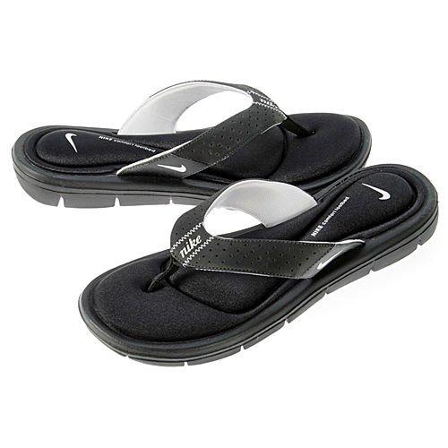 nike memory foam flip flops womens