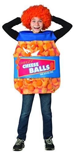 Utz Girl Costumes - Rasta Imposta Cheeseballs Costume Funny Food