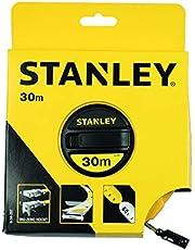 Stanley 0-34-297 Cinta métrica arrollable Fibra de Vidrio, 30 m, 30m
