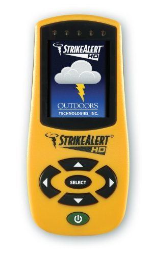 - Strike Alert HD Lightning Detector, Yellow by Strike Alert