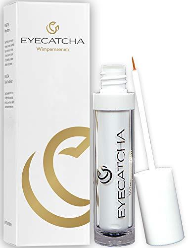 Eyecatcha Wimpern Booster - hormonfreies Premium Wimpernserum für atemberaubende Wimpern, natürliche Wimpernverlängerung, Wimpernserum Testsieger, 4ml