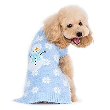 Amazoncom Dogo Snowman Dog Sweater Extra Extra Large Pet Supplies