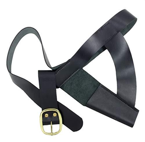 Windlass Brown Bess Musket Waist Belt with Frog]()