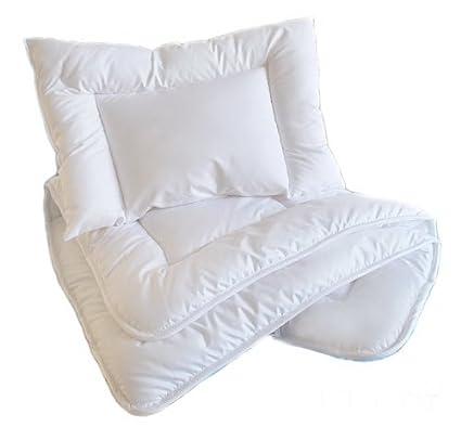 120 x 90cm QUILT to fit cot or cot bed DUVET Luxury 2 pcs BABY BEDDING SET//PILLOW DUVET