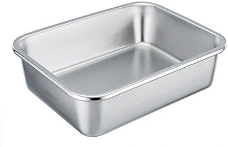 TeamFar Rectangular Stainless Casserole Dishwasher product image