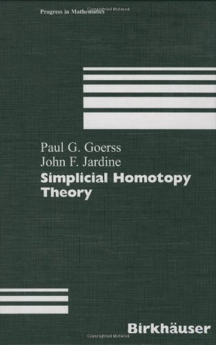 Simplicial Homotopy Theory (Progress in Mathematics)