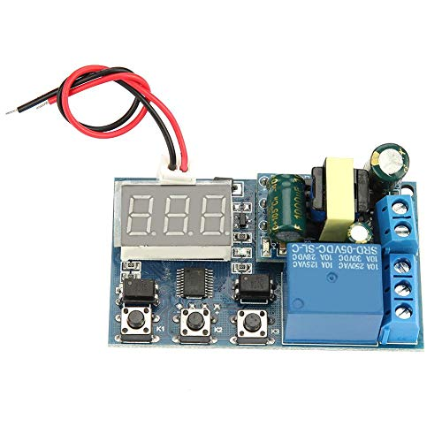 Timer Relay Module, Automation Time Controller Switch Multifunction Adjustable Cycle Timer Relay PLC Board