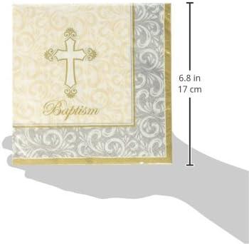 Kole Imports Baptism Divinity Beverage Napkins
