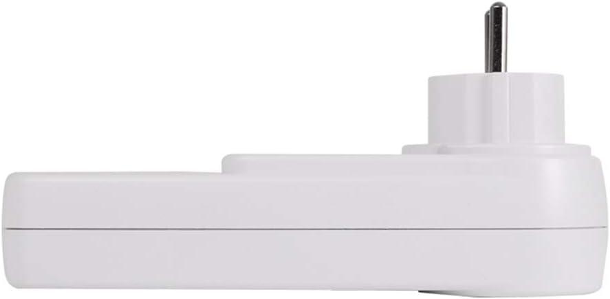Domybest DDS108L Wattmeter Stromz/ähler Elektrometer Stromz/ähler mit LCD-Display Hintergrundbeleuchtung Zeitschaltuhr