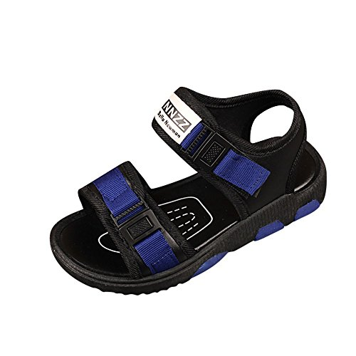 Outdoor Flops Ankle Sports Sandals Chelsea Sneakers up Shoes Boy Baby Beach Boots Flip blue Lace Flats Toddler Toe Warm Closed VEMOW New Child Kids F Zipper Girl Summer Oqwn6T8