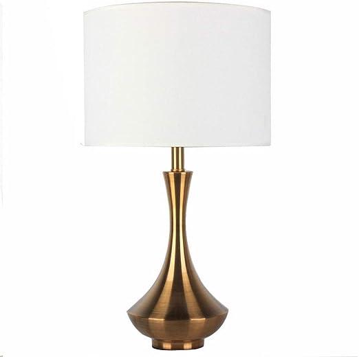 YQYL Lámpara de Mesa luz Americana Moderna Lámpara de Mesa de ...