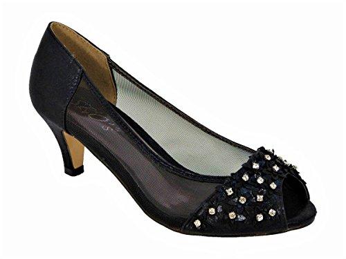 Femme SKO'S 21 Sandales Black Pour 98 pAnnqYx6zw