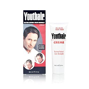 Amazon.com : Youthair Creme for Men 3.0 oz : Hair Coloring ...