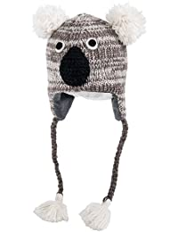 Nirvanna Designs CHKOALA Koala Hat with Fleece, Grey, 5 Years