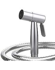 DECORUS Handheld Bidet Toilet Sprayer Stainless Steel Bathroom Bidet Sprayer Kit Baby Cloth Diaper Sprayer Toilet Water Sprayer Bidet for Toilet Bidet Attachment Set Reduce Toilet Paper Use