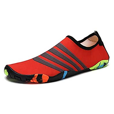 Scuba diving shoes Printed snorkeling shoes Fast interference water tracing Outdoor beach shoes 02