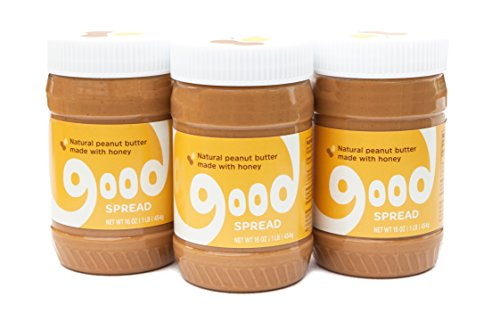 Worlds Best Apple Pie (Good Spread Natural Peanut Butter Blended with Honey, Smooth, All Natural Magic, 16 oz. Jar (3 pack))