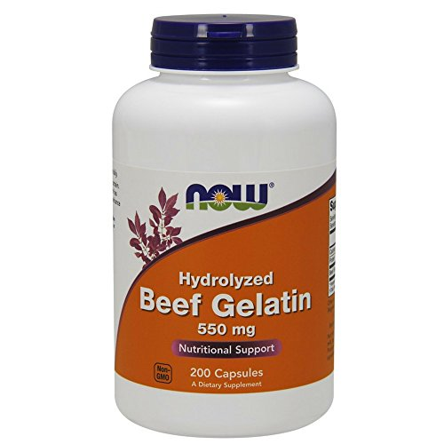 Now Foods Beef Gelatin Hydrolyzed Pack of 2