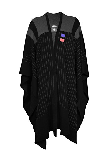 Musterbrand Star Wars Cape Donna Darth Vader Nero