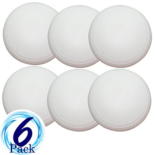 Doorknob Stopper - Set of 6 Self Adhesive Wall Guards by bogo Brands