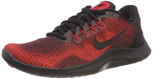 001 University Herren 2018 Run Flex Black Scarpe Black Team Uomo Nike Red Laufschuh Red Multicolore Running CPUqxdcZnw