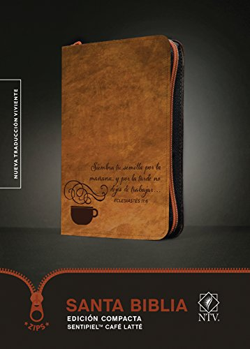 Santa Biblia NTV, Edición compacta, Café latté