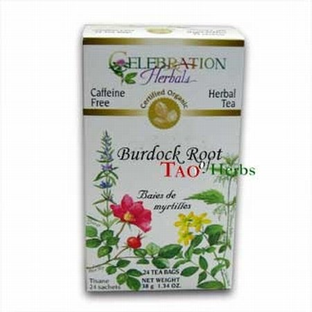 Celebration Herbals Teabags Burdock Organic