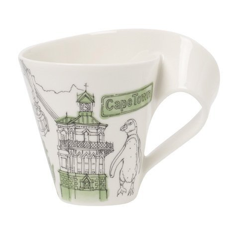 Villeroy & Boch New Wave Caffe Cities Of The World Mug - Capetown