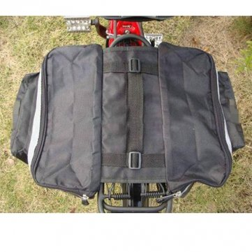Pakhuis Bike Bicycle Waterproof Tail Bag Pannier Double Sides 28L