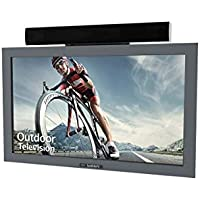 SunBriteTV Outdoor TV 32-Inch Pro Ultra-Bright Full-Sun HDTV LED Television Silver - SB-3211HD-SL