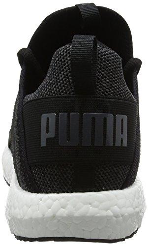 Puma asphalt Knit Noir NRGY Homme de Black Chaussures Mega Cross aaqxrC4z