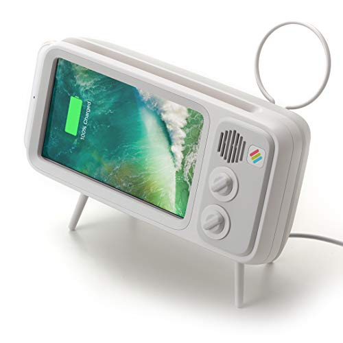 Retroduck Retro-Style Smart Phone Dock Compatible for iPhone 6, 6s, 7, 8 ()