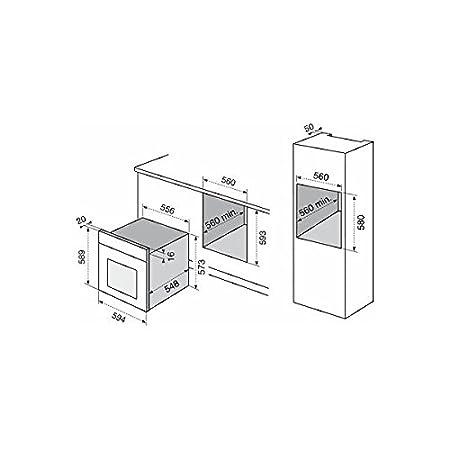 Electrolux F53X Elettrico 70L Acciaio inossidabile forno: Amazon.it ...