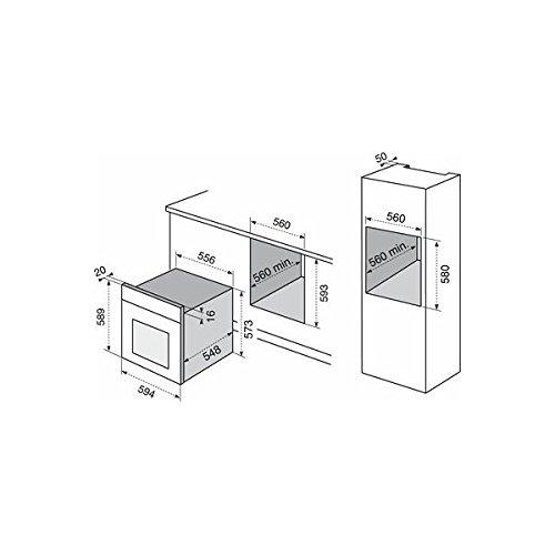 Electrolux F53X Elettrico 70L Acciaio inossidabile forno: Amazon ...