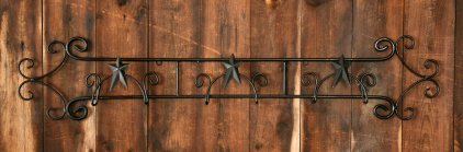 Amazon.com - Your Hearts Delight Wall Wrought Iron Folk Star 3-Plate ...
