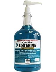 Listerine Mouthwash 1 Gallon Cool Mint with Pump 2/Case